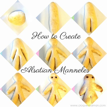 How to create Alsatian manneles by Croque-Maman