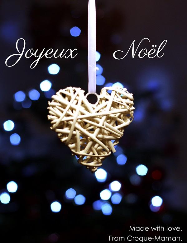 Joyeux Noel de Croque-Maman - Made with love