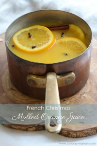 Mulled orange juice
