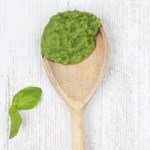 Green beans puree with basil and olive oil SQ