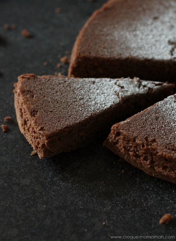 Gateau au chocolat - Croque-Maman