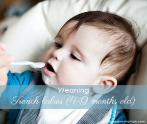 Baby weaning (4-9 months old) - Croque-Maman
