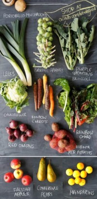 Wholegood fruit & veg box - Croque-Maman