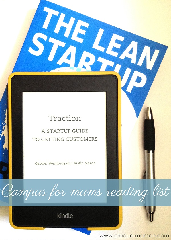 Google Campus for mums reading list - Croque-Maman
