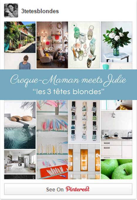 """Croque-Maman meets Julie, the French mum behind """"les 3 têtes blondes"""""""