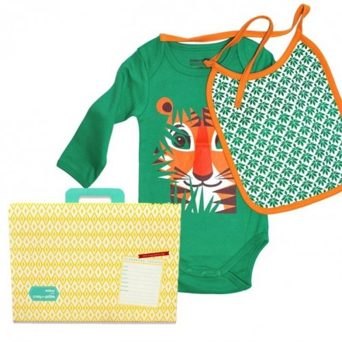 Baby gift set - happy eater - Tiger (set)