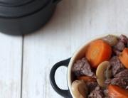French beef stew recipe - Boeuf bourguignon - Croque-Maman