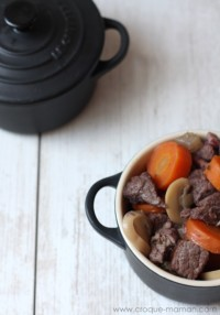 French beef stew recipe - Boeuf bourguignon - Croque-Maman