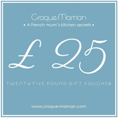 £25 gift voucher - Croque-Maman