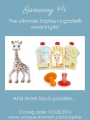 Giveaway #4 – The ultimate Sophie la girafe® weaning kit