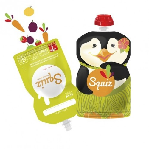 Squiz reusable food pouches - Animals - Carnival -Instructions