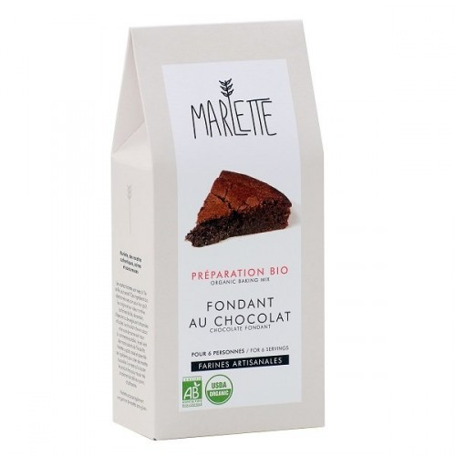 Chocolate fondant baking mix (packaging) - Marlette