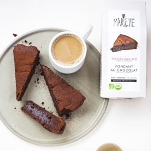 Chocolate fondant baking mix (plate coffee) - Marlette