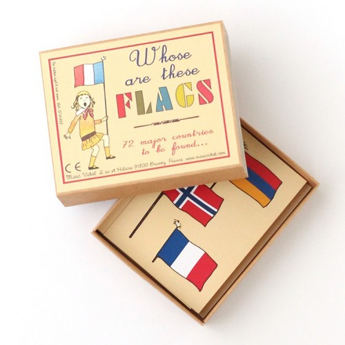 Guess the flag family table game - Open - Marc Vidal - Croque-Maman