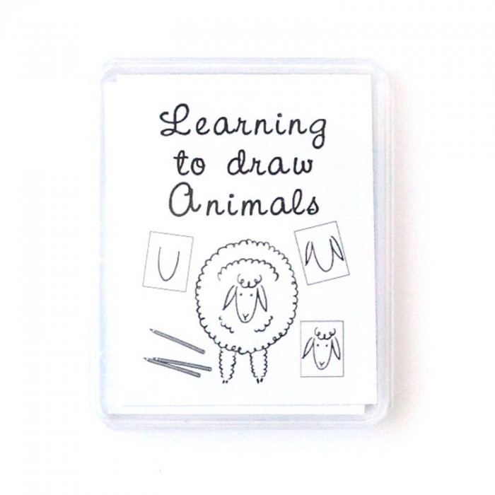 Learning to draw animals family table game – Marc Vidal