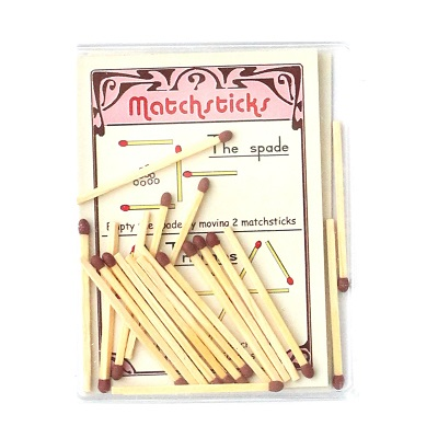 Matchsticks family table game – Marc Vidal
