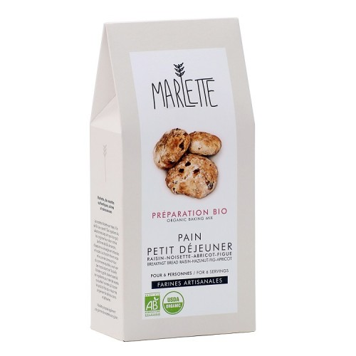 Organic breakfast bread (packaging) - Marlette - Croque-Maman