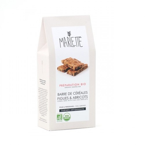 Organic fig and apricot breakfast cake (packaging) - Marlette - Croque-Maman