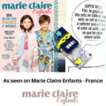 Reusable colouring in placemat set - Croque-Maman as seen in Marie Claire enfants