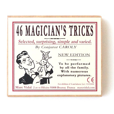 Magician's tricks family table game – Marc Vidal