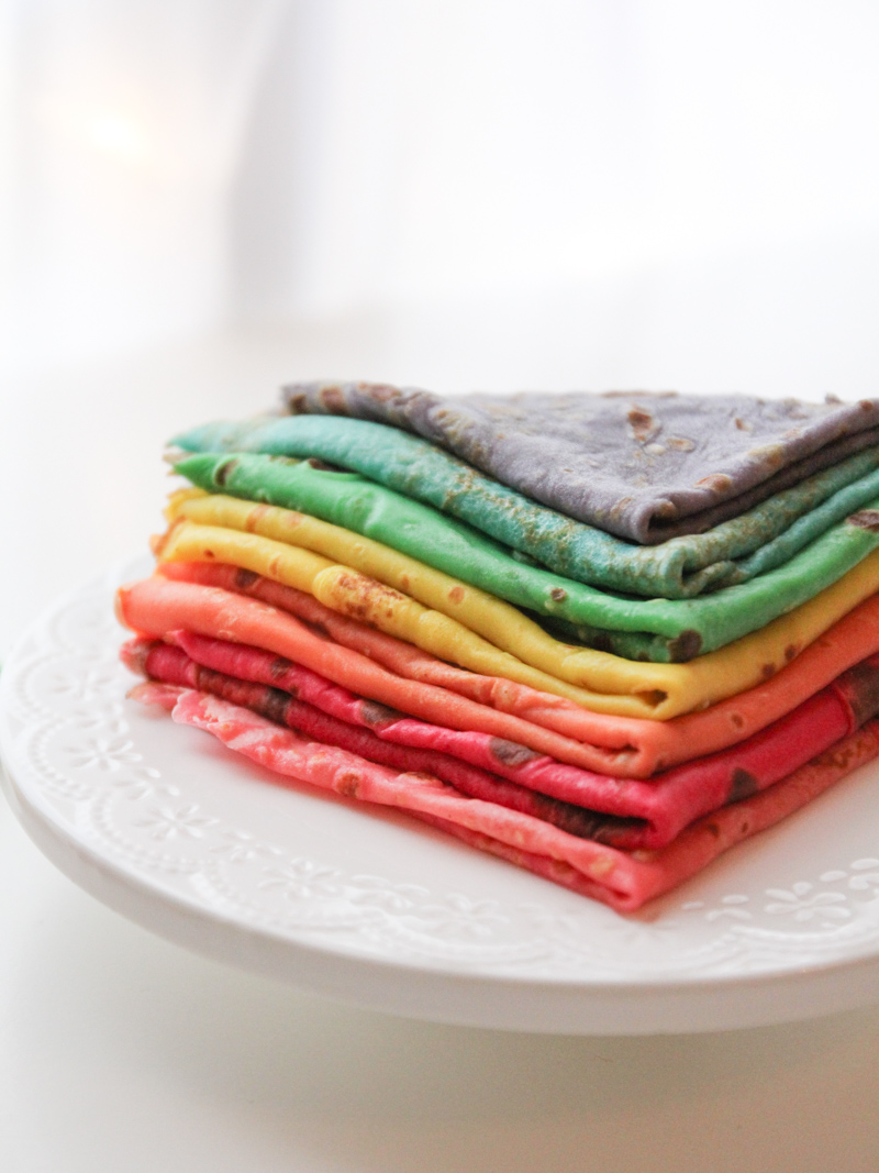 Rainbow crepes - Wonderfulbreizh - Croque-Maman
