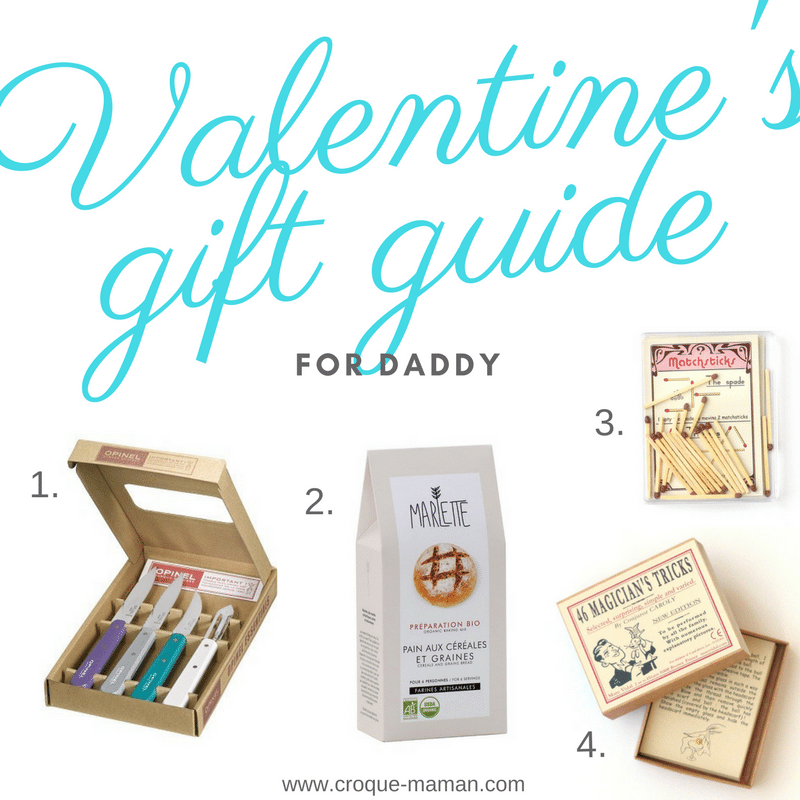 Valentine's Day gift guide - For Daddy - For Him - Croque-Maman