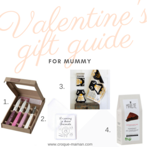 Valentine's Day gift guide - For Mummy - For Her - Croque-Maman