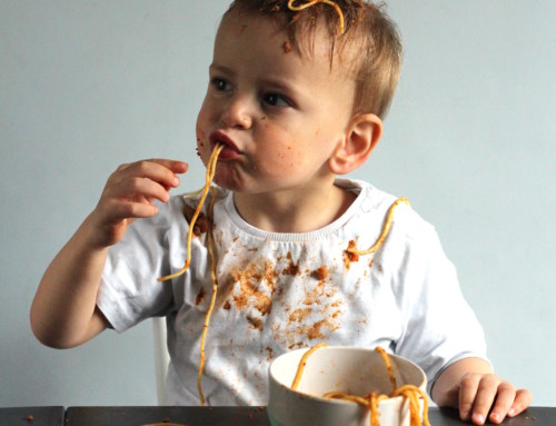 Baby led weaning in France… ummmhh… interesting…
