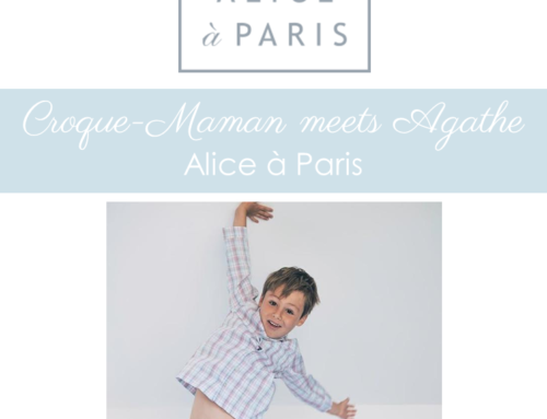 Croque-Maman meets Agathe, from Alice a Paris