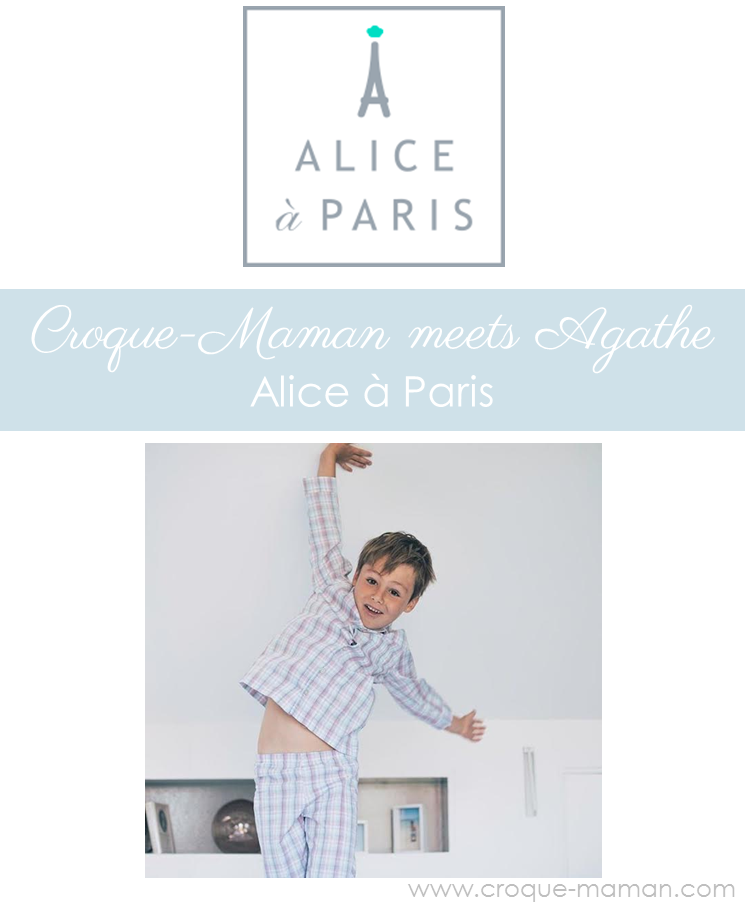 Croque-Maman meets Agathe, the French mum behind Alice a Paris