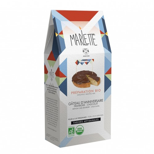 Organic birthday cake - Marlette - Croque-Maman - Pack