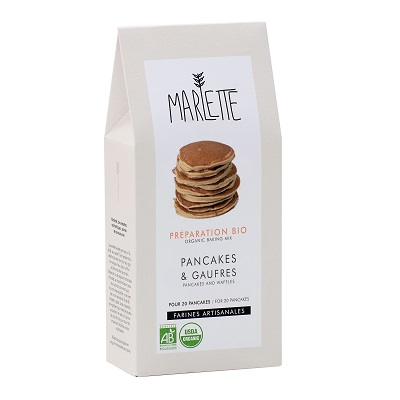 Organic pancakes and waffles baking mix - Marlette - Croque-Maman - Pack