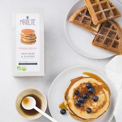 Organic pancakes and waffles baking mix – Marlette