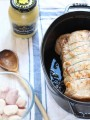 Easy & delicious French pork roast recipe: Rôti de porc de Dijon