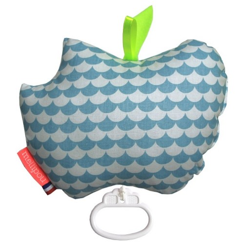 Apple musical cot toy – Kay sky – Mellipou