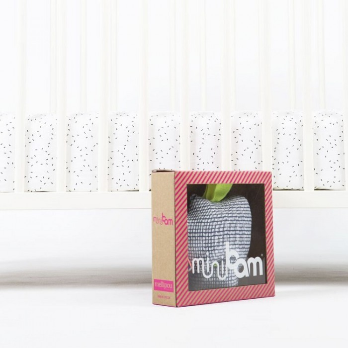 Apple musical pram toy – Minibam Brody – Mellipou