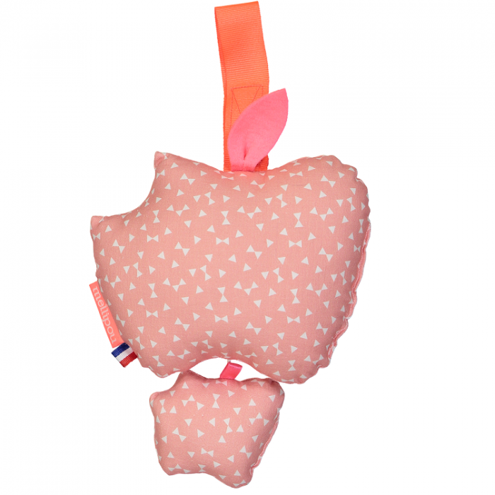 Apple musical pram toy – Minibam Nelly – Mellipou