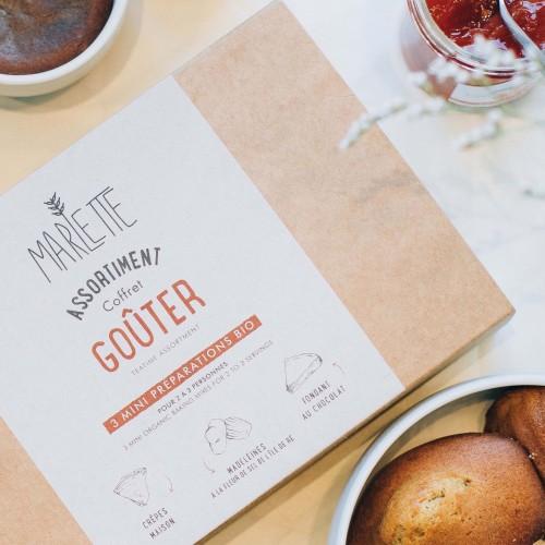 Goûter organic baking kits – Gift set – Marlette