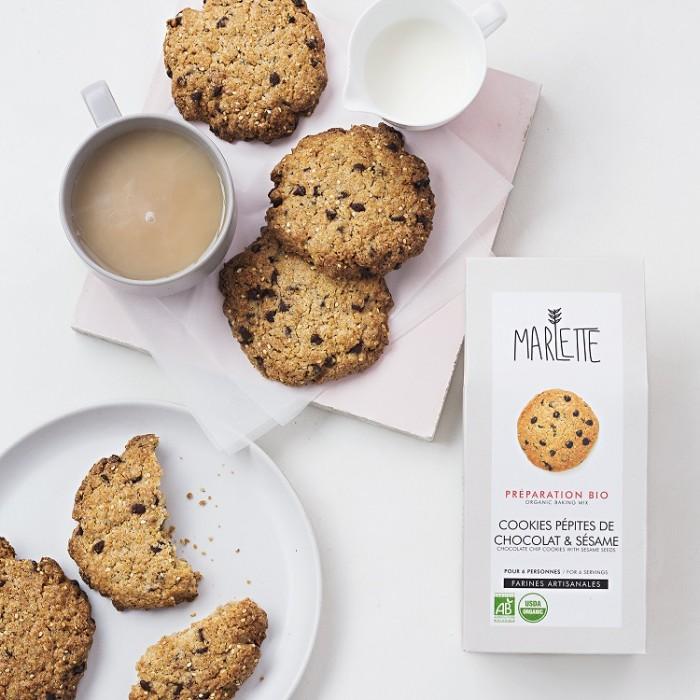 Organic sesame chocolate chip cookies baking mix – Marlette