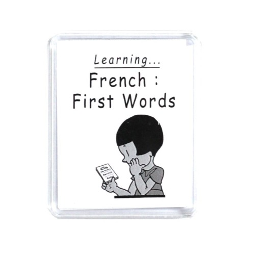 Learning French first words family table game – Marc Vidal