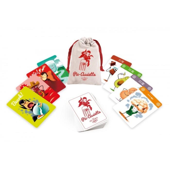 Supermenu family card game – Pic-Assiette – Les jouets Libres