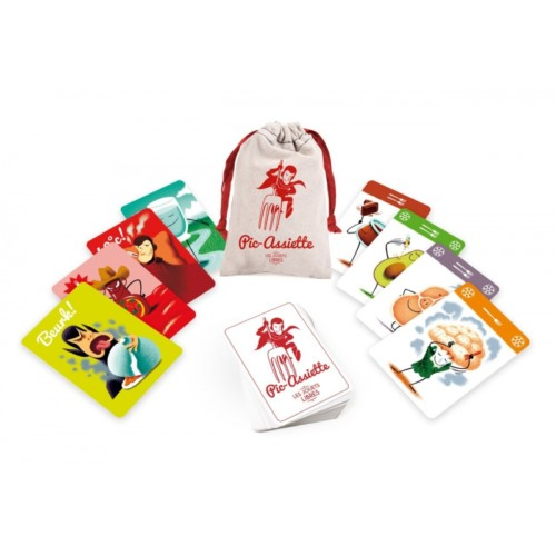 Supermenu family card game – Pic-Assiette – Les jouets Libres