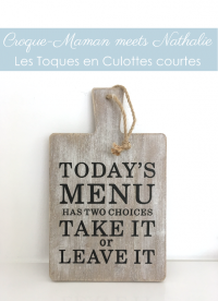 Croque-Maman meets Nathalie - Les toques en culottes courtes (LR)