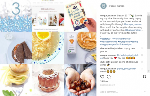 Croque-Maman Instagram