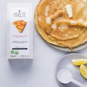 Organic crepes pancakes baking kit (lemon and sugar) - Marlette - Croque-Maman