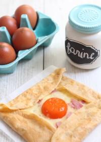 Crepe complete recipe - Croque-Maman