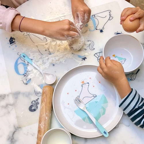 Reusable colouring in placemat set – Numbers