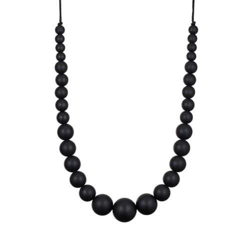 Colomba teething necklace for mum, black – MintyWendy