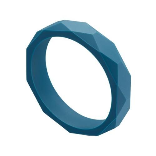 Teething bracelet for mum, peacock blue – MintyWendy