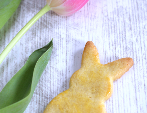Guest posting today! Easter bunny biscuits